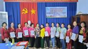 """Hội LHPN xã Tân Quy Tây ra mắt Chi hội phụ nữ """"5 không 3 sạch"""" ấp Tân Lợi"""