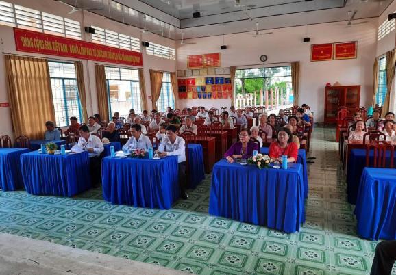 Xã Tân Quy Tây tổ chức họp mặt  Kỷ niệm 73 năm ngày Thương binh-Liệt sĩ (27/7/1947 - 27/7/2020)