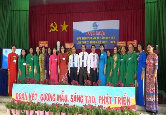 Đại hội đại biểu phụ nữ xã Tân Quy Tây lần thứ IX, nhiệm kỳ 2021 – 2026